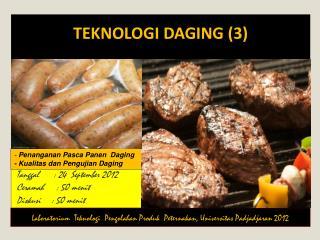 Teknologi Daging  (3)
