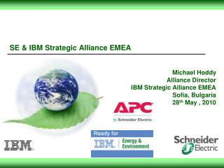 SE  IBM Strategic Alliance EMEA