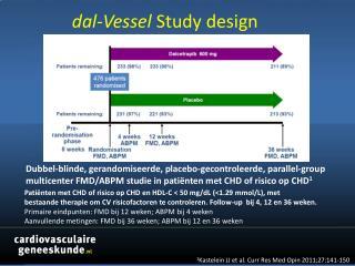 dal-Vessel Study  design