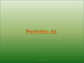Periodos de