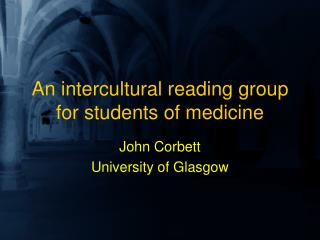 An intercultural reading group for students of medicine