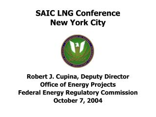 SAIC LNG Conference New York City
