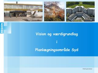 Vision og værdigrundlag i Planlægningsområde Syd