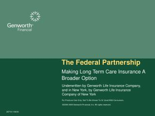 The Federal Partnership