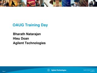 OAUG Training Day