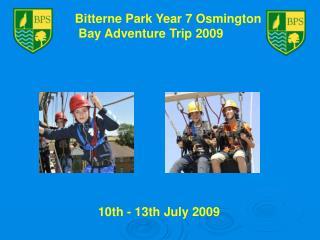 Bitterne Park Year 7 Osmington  Bay Adventure Trip 2009
