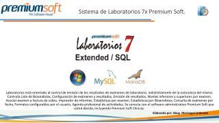 Sistema de Laboratorios 7x Premium Soft.