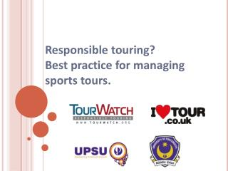 Responsible touring?  Best practice for managing sports tours.