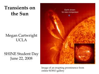 Transients on the Sun