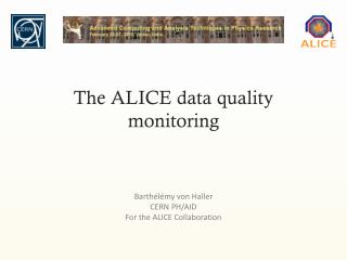 The ALICE data quality monitoring