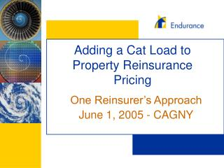 Adding a Cat Load to Property Reinsurance Pricing