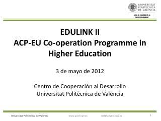 Instrucciones convocatorias de la UE tramitadas por el CCD