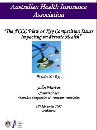 Australian Health Insurance Association