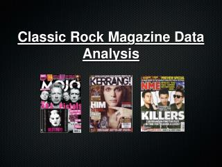 Classic Rock Magazine Data Analysis