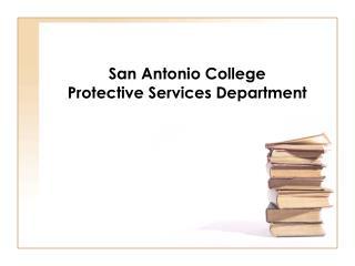 San Antonio College Protective Services Department