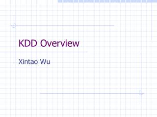 KDD Overview