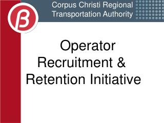 Corpus Christi Regional  Transportation Authority