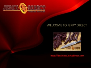 Jerky Direct Business Opportunity