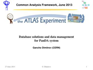 Common Analysis Framework, June 2013