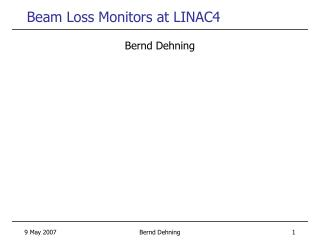 Beam Loss Monitors at LINAC4
