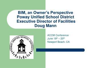 ACCM Conference June 19 th  – 20 th Newport Beach, CA