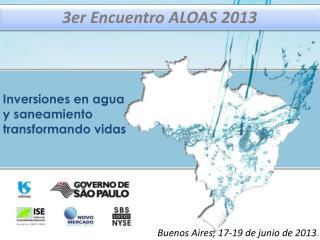 3er  Encuentro  ALOAS 2013