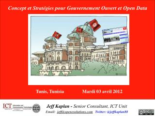 Concept et  Stratégies pour Gouvernement Ouvert et Open Data