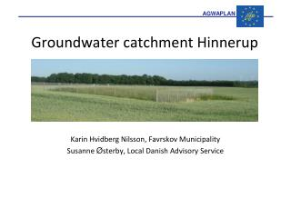 Groundwater catchment Hinnerup