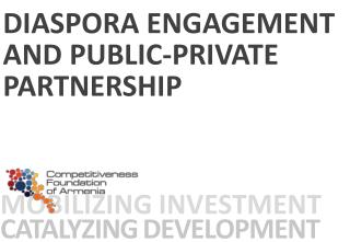 Mobilizing investment Catalyzing development