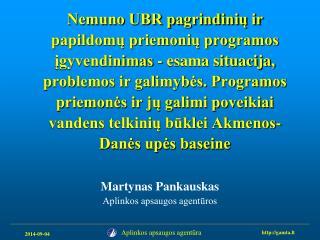 Martynas Pankauskas Aplinkos apsaugos agentūros