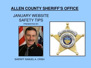ALLEN COUNTY SHERIFF�S OFFICE