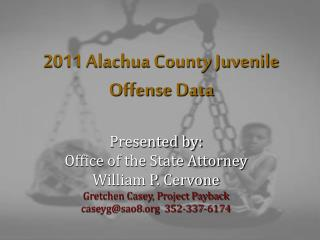 2011 Alachua County Juvenile Offense Data