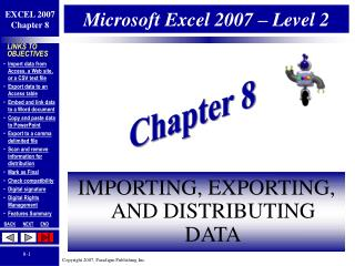 Microsoft Excel 2007 – Level 2