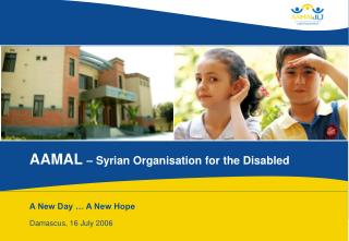 AAMAL  – Syrian Organisation for the Disabled