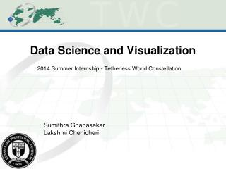 Data Science and Visualization