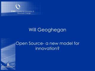 Will Geoghegan