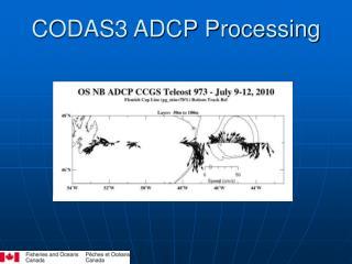 CODAS3 ADCP Processing
