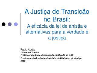 A Ditadura Militar no Brasil (1964-1985)