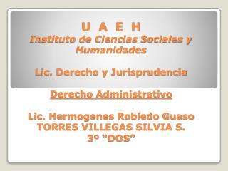 TAREA 1.  Definiciones de Derecho Administrativo