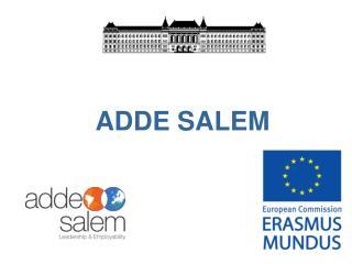ADDE SALEM