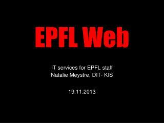 EPFL Web
