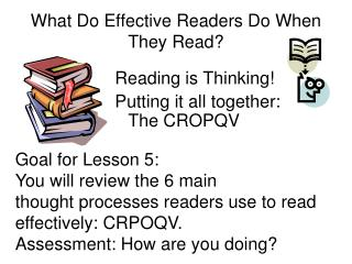 What Do Effective Readers Do When They Read?