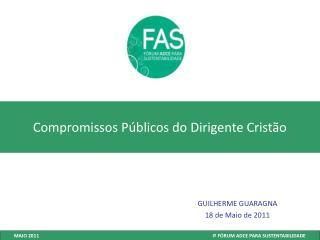 Compromissos Públicos do Dirigente Cristão