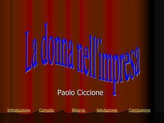 Paolo Ciccione