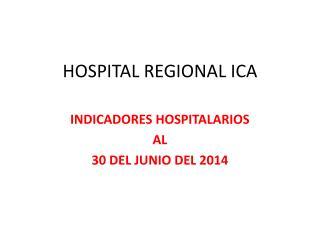 HOSPITAL REGIONAL ICA