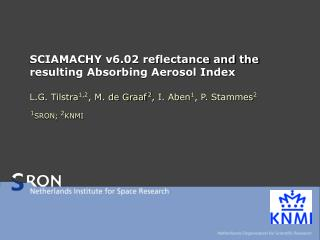 SCIAMACHY v6.02 reflectance and the resulting Absorbing Aerosol Index