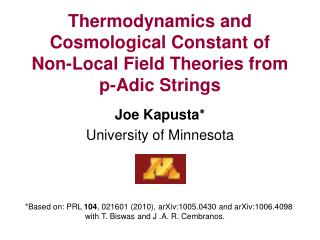 Thermodynamics and Cosmological Constant of  Non-Local Field Theories from p-Adic Strings