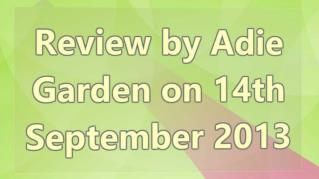 ppt 40182 Review by Adie Garden on 14th September 2013