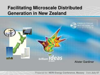 Facilitating Microscale Distributed Generation in New Zealand