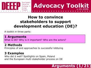 Advocacy Toolkit
